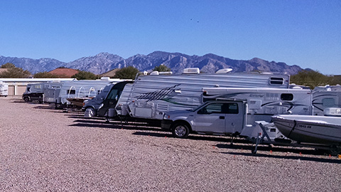 RV storage in Marana-Tucson